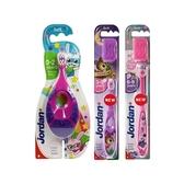 挪威 Jordan 兒童牙刷(1入) 年齡款可選【小三美日】 顏色隨機
