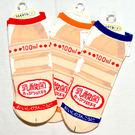 可愛KUSO 綿襪子 22-25cm 男女皆適 日本製 乳酸菌飲料圖案