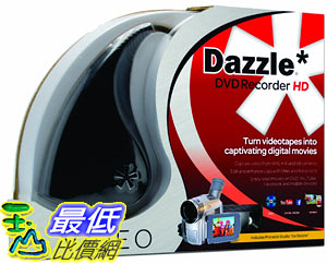 [106美國直購] 2017美國暢銷軟體 Dazzle DVD Recorder HD VHS to DVD Converter