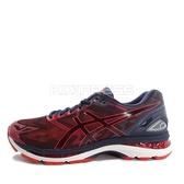 Asics GEL-Nimbus 19 [T700N-5806] 男鞋 運動 慢跑 健走 休閒 緩衝 亞瑟士 深藍 紅