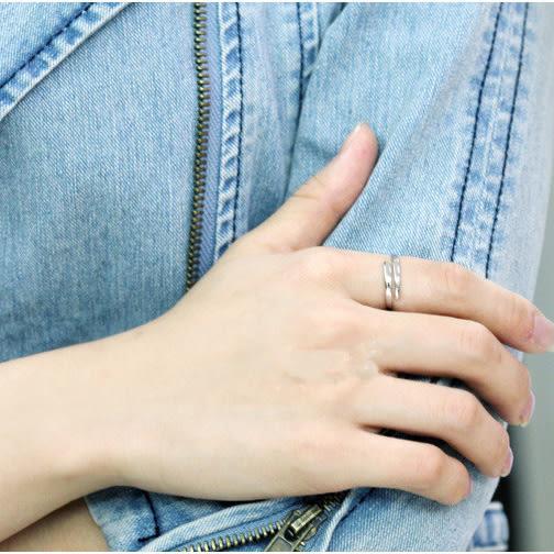 【雙十二】預熱925純銀戒指男開口 韓版潮男個性指環男戒子首飾單身學生尾戒刻字     巴黎街頭