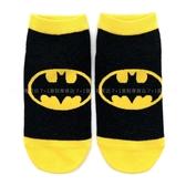 《7+1童鞋》蝙蝠俠 DC 正版授權 童襪 直版襪 22-26 公分 DCA5 黑黃配色