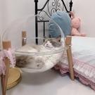 透明貓窩夏天涼窩封閉式貓咪太空艙貓屋四季通用房子別墅寵物用品