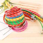 彩色彈性捆綁繩 尼龍繩 摩托車貨架 機車繩 行李捆綁帶 露營繩 雙勾 捆綁繩【Z087】生活家精品