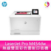分期0利率 惠普 HP LaserJet Pro M454dw 無線雙面彩色雷射印表機