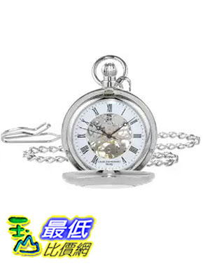 [美國直購] 手錶 Charles Hubert 3527-W Mechanical Pocket Watch