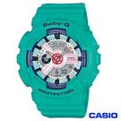 CASIO卡西歐 Baby-G個性甜心立體多層次雙顯腕錶 BA-110SN-3A
