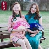 扇子3 把送1 把日式折扇中國風絹扇折疊扇 古風舞蹈