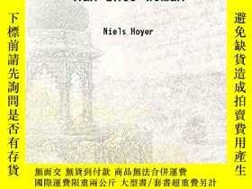 二手書博民逛書店Man罕見Into WomanY364682 Niels Hoyer Facsimile Publisher