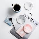 北歐ins大理石紋陶瓷杯垫 隔熱墊 方形/圓形/八角杯墊 茶杯墊 杯墊 防滑防燙墊【RS1160】