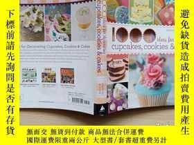 二手書博民逛書店1000罕見Ideas for Decorating Cupcakes, Cakes, and Cookies