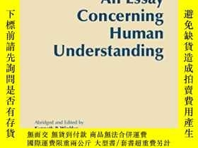 二手書博民逛書店An罕見Essay Concerning Human UnderstandingY307751 John Lo