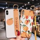 S8/S9/N8/N9三星保護套 S10/S10e/S10 Plus保護殼 清新三星手機殼 腕帶挂飾SamSung Note 10 Plus手機套