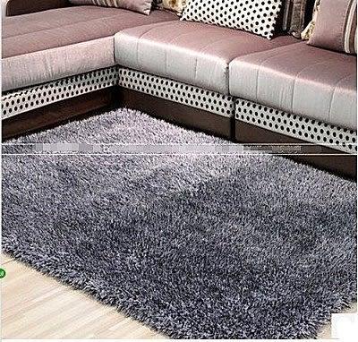 茶幾地毯加厚彈力絲160*230cm【藍星居家】