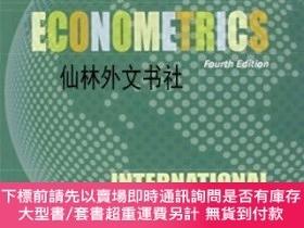 全新書博民逛書店【】Principles Of Econometrics, Fourth Edition Internationa