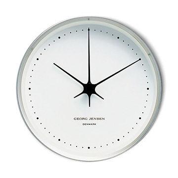 丹麥 Georg Jensen HK 系列 Wall Clock 漢寧 古柏 壁鐘 22cm