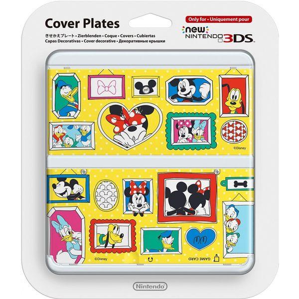 NEW 3DS專用 任天堂原廠 主機 上下 外殼 替換面板 迪士尼限定 New N3DS NO.074【玩樂小熊】
