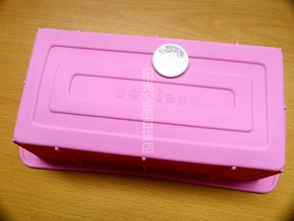 [協貿國際]  大號卡司DIY 矽膠蛋糕模具