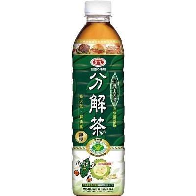 【免運/聯新貨運】愛之味健康油切分解茶590ml(24瓶/箱)【合迷雅好物超級商城】
