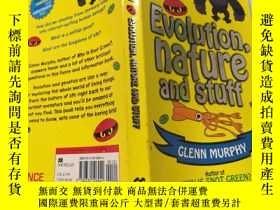 二手書博民逛書店Evolution罕見nature and stuff 自然進化論Y200392