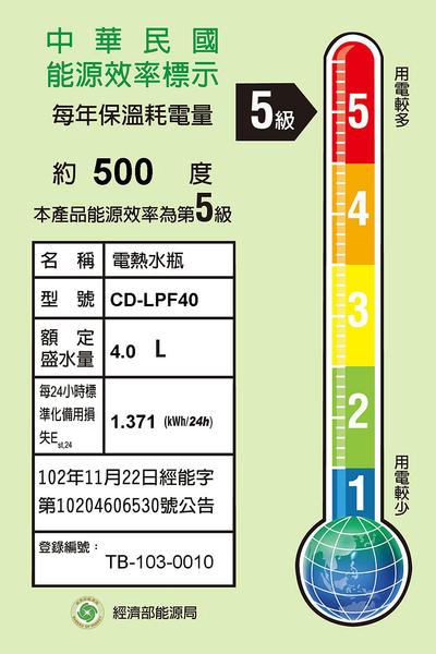 ■週年慶活動價!■【日本原裝】象印CD-LPF40熱水瓶 4公升**另有CV-TWF40可參考**