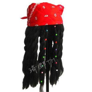 加勒比海盜假發配頭巾
