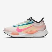 Nike W Zoom Fly 3 Prm [CJ0404-600] 女鞋 慢跑 運動 透氣 輕量 緩衝 健身 粉 橘