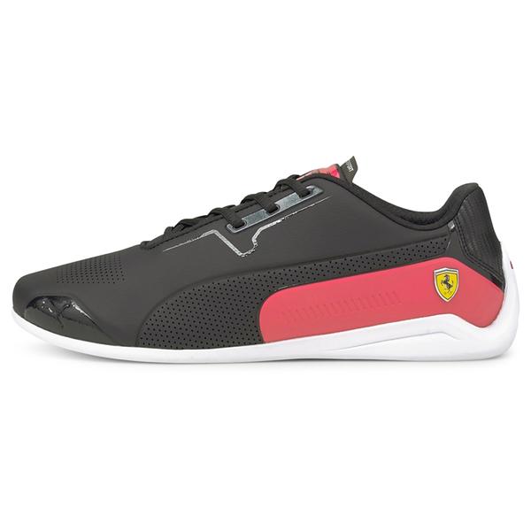 PUMA Ferrari Drift Cat 8 男鞋 賽車 經典 法拉利 黑 紅【運動世界】30681801