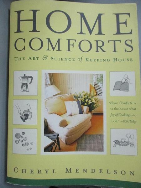 【書寶二手書T2/建築_YJL】Home Comforts: The Art and Science of Keeping House_Mendelson, Cheryl
