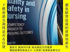 二手書博民逛書店Quality罕見and Safety in Nursing: A Competency Approach to