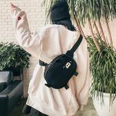 側背包 包包軟妹小清新大容量中學生日韓女 斜挎包 韓版可愛帆布側背包 潮 芭蕾朵朵