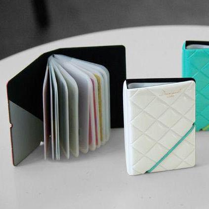 【超取399免運】鑽石系列鑽石質感卡包 卡夾 pvc卡包 名片包 card case (顏色隨機出貨)