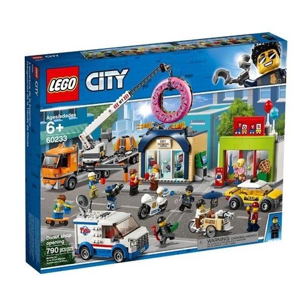 【南紡購物中心】【LEGO 樂高積木】城市 City 系列 - 甜甜圈店新開幕60233