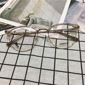 【新年鉅惠】索菲亞時尚文藝鏡架潮男復古女金屬超輕全框可配近視眼鏡框架3555