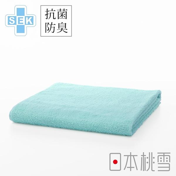日本桃雪SEK抗菌防臭運動大毛巾(湖水藍) 鈴木太太