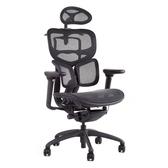 ※售完 特惠清出 人體工學全網 工學椅 (全黑色) TW-7299BKS