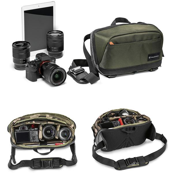 ★相機王★Manfrotto CSC Camera Sling 街頭玩家微單眼斜肩包 相機包