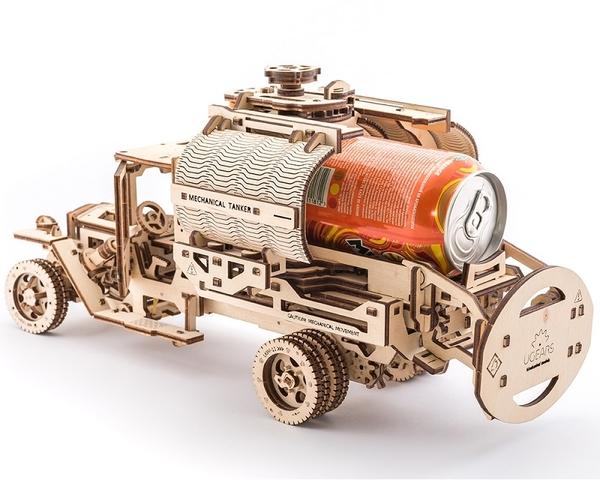 Ugears 卡車豪華組 卡車+改造套件 自走模型 精緻擺設品