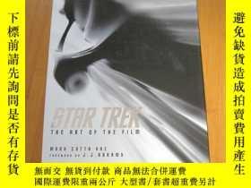 二手書博民逛書店Star罕見Trek: The Art of the Film 星際迷航設定資料集 英文版Y178456 Ma