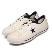 Converse 休閒鞋 One Star HanByeol 米白 黑 男鞋 女鞋 皮革 【ACS】 167324C