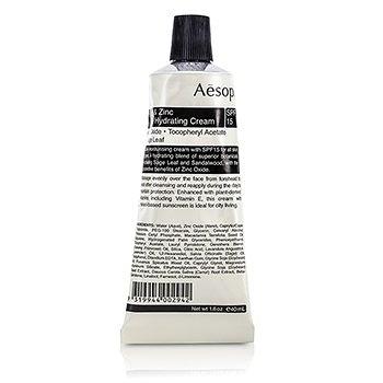 SW-Aesop-56 鼠尾草防曬保濕霜Sage & Zinc Facial Hydrating Cream SPF 15 40ml
