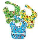 美國Bumkins防水兒童圍兜-Dr.Seuss設計款(3入)