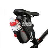 腳踏車袋 腳踏車包尾包山地車包座包折疊車後座包帶尾燈騎行裝備配件 卡菲婭