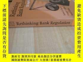 二手書博民逛書店16開罕見《Rethinking Bank Regulation