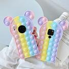 減壓矽膠Galaxy S21 Ultra手機套 米奇三星note20手機殼 三星S20/S10/S9 Plus保護殼 SamSung N10/N9保護套