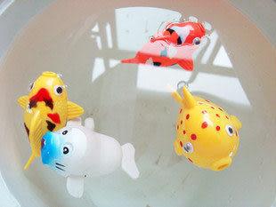 發條遊泳小動物 夏日必備洗澡戲水玩具(小號)