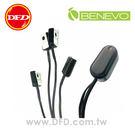 現貨 BENEVO UltraVideo 帶線型一對四 IR 紅外線遙控集中管理器(新版) 公司貨 BIR104S