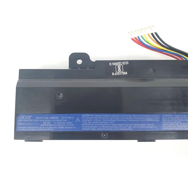 ACER AL15B32 . 電池 Aspire V15 V5-591 V5-591G T5000 V5-591G-58ZR V5-591G-54CT V5-591G-58ZR 31CR V5-591G-75GP Li-Ion 3S2P