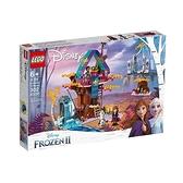 【南紡購物中心】【LEGO 樂高積木】迪士尼公主Disney系列-被施法的樹屋(302pcs)41164