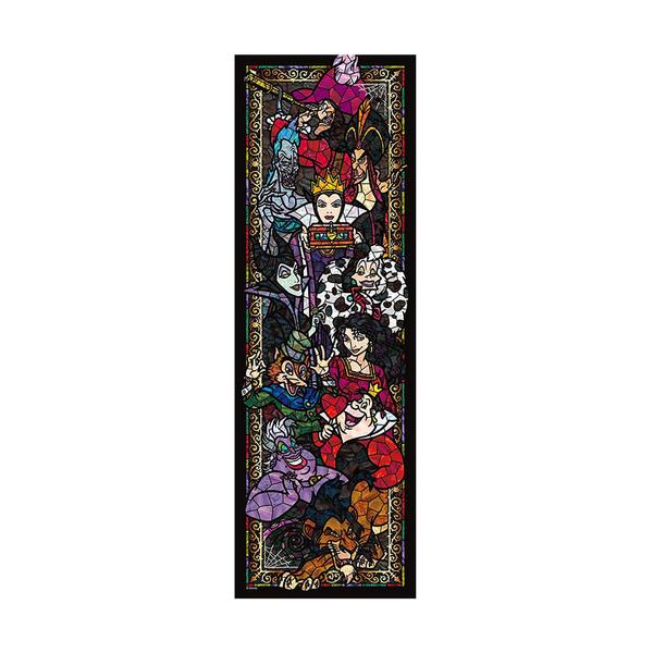 Tenyo拼圖 456透明片 彩繪玻璃 迪士尼家族惡女系列_BF93730